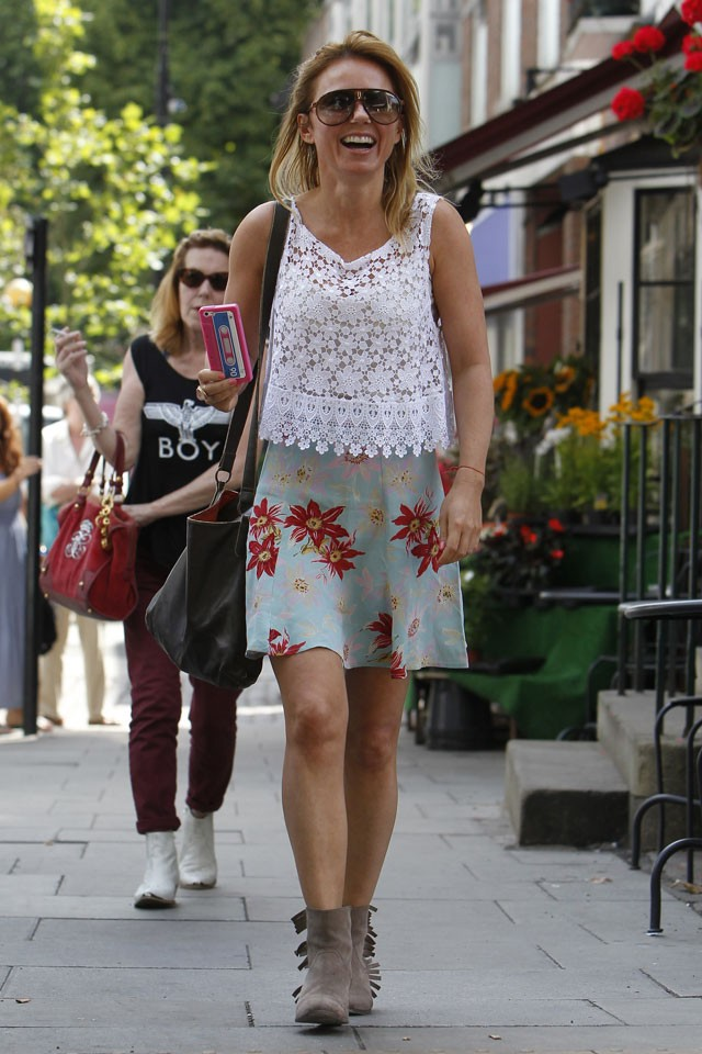 geri halliwell steps out on her 41 birthday