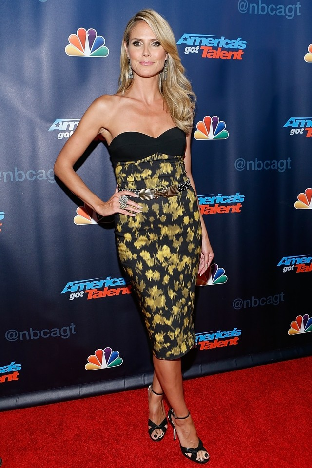 America's (Got Talent) Sweetheart! Heidi Klum Is Literally Stunning At TV Red Carpet Event