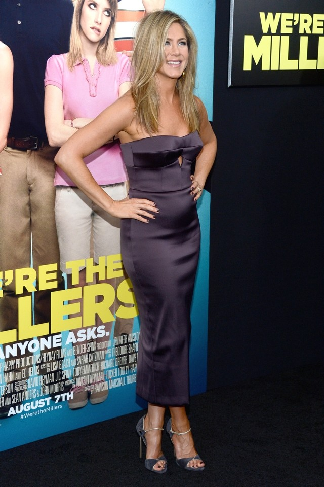 Jennifer Aniston: 'I'm Not Pregnant, I've Just Gained Weight'