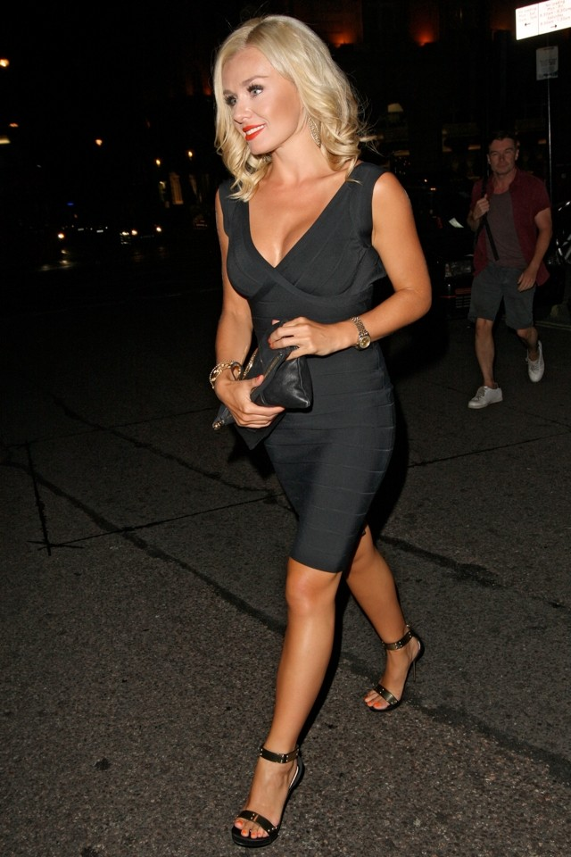 How To Make An LBD SEXY, by Katherine Jenkins