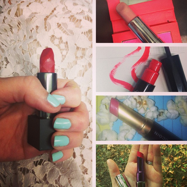 Lunchtime Lipstick Catch-Up: Week Two