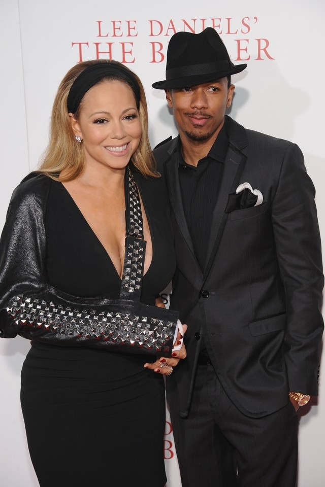 Mariah Carey Turns Dislocated Shoulder Into Fashion Accessory At Premiere