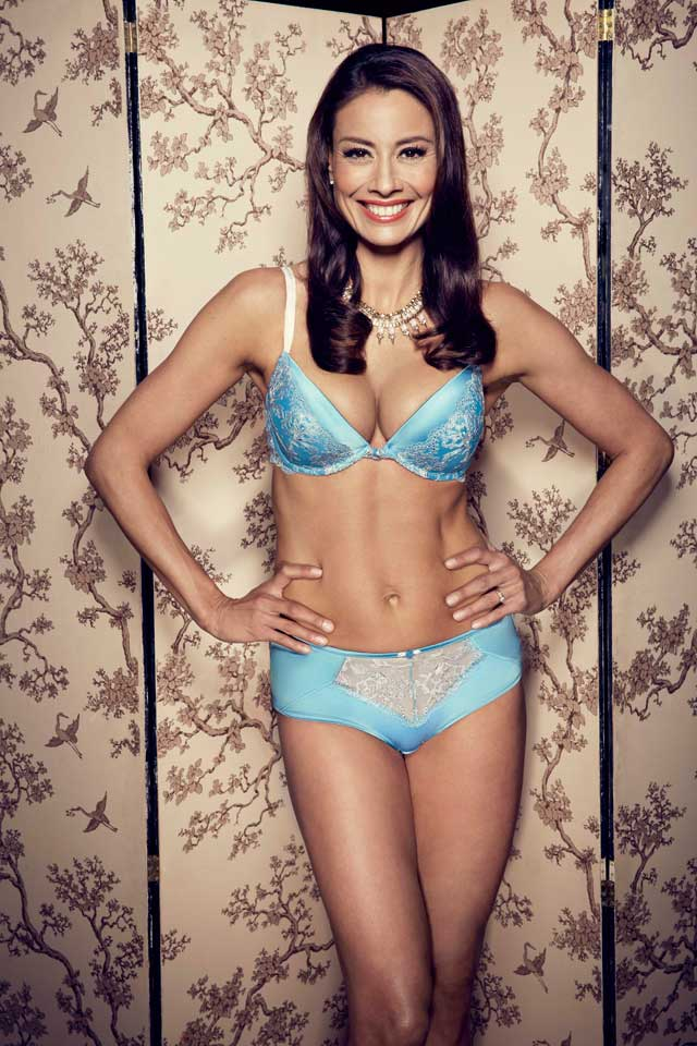 Look! Melanie Sykes Is An Underwear Model Again!