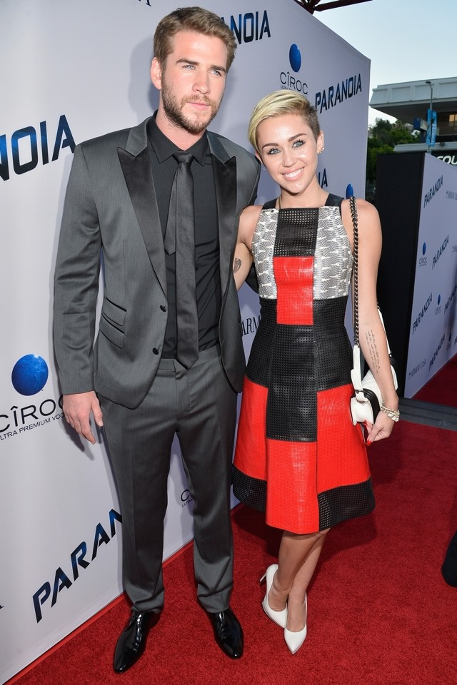 OMG! Miley Cyrus And Liam Hemsworth Makes First Red Carpet Appearance In A Year! (And They Look Amazing)