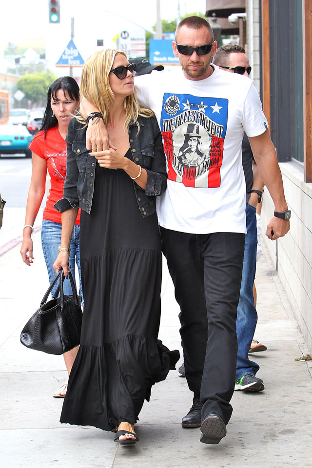 is heidi klum engaged to bodyguard boyfriend?