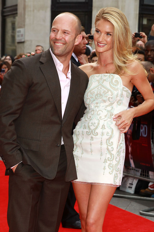 jason statham and rosie huntington-whiteley on a break