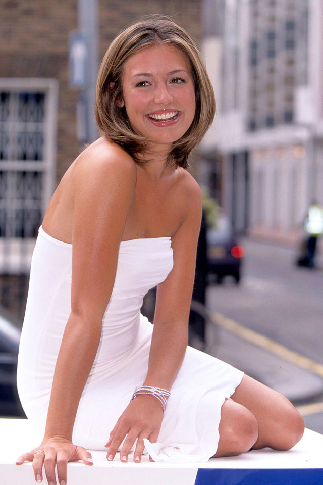 cat deeley in the nineties