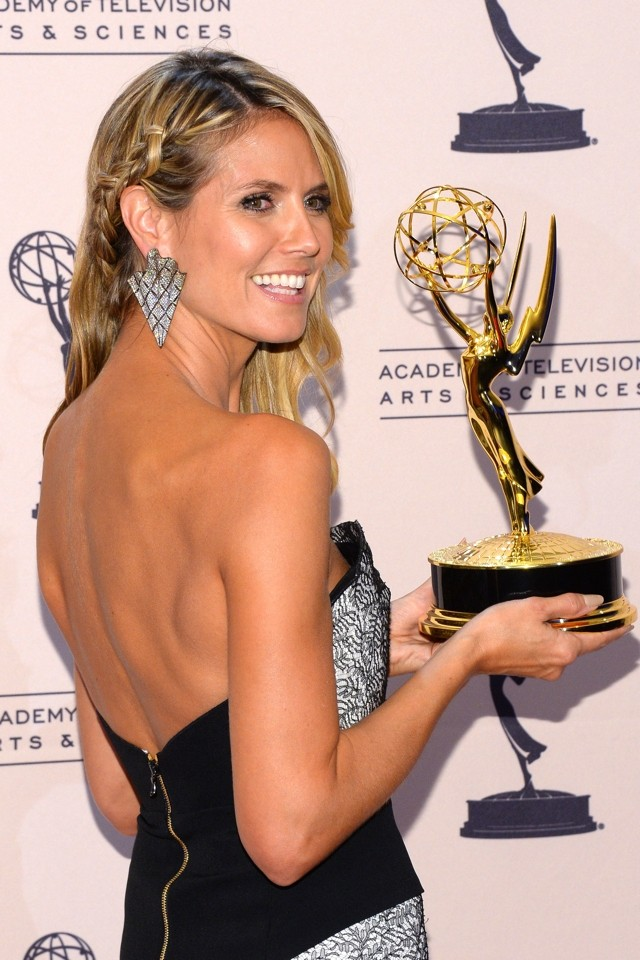 Heidi Klum Steals The Show At The 2013 Creative Arts Emmy Awards