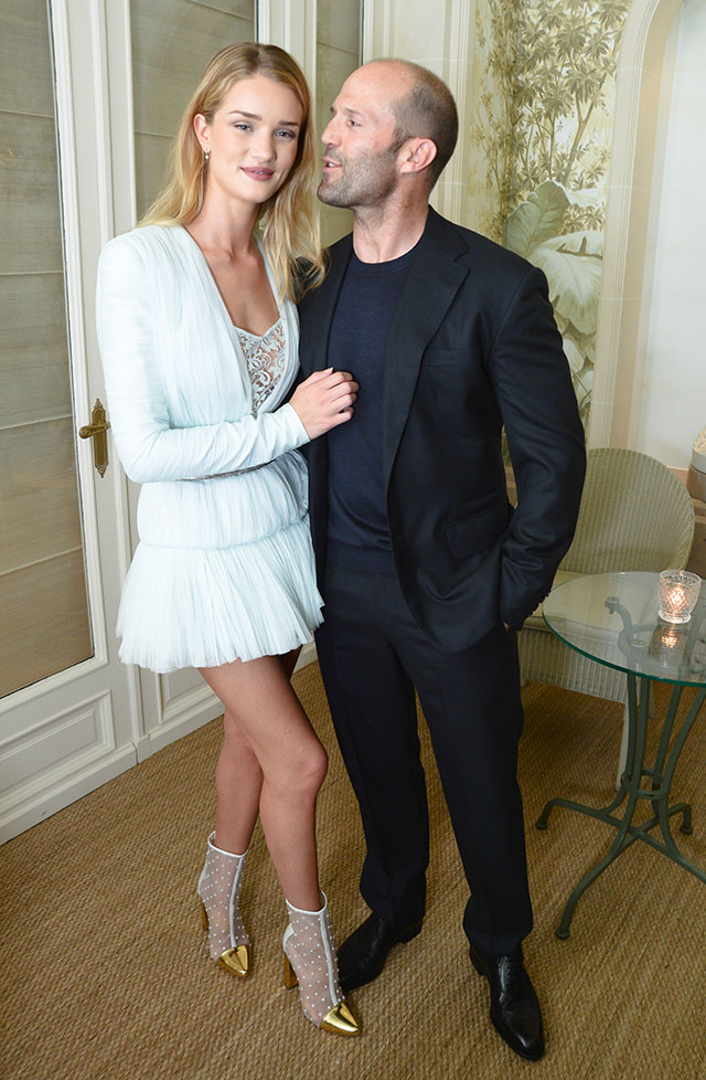 Rosie Huntington-Whiteley & Jason Statham Look More Like A Couple Than Ever In Paris