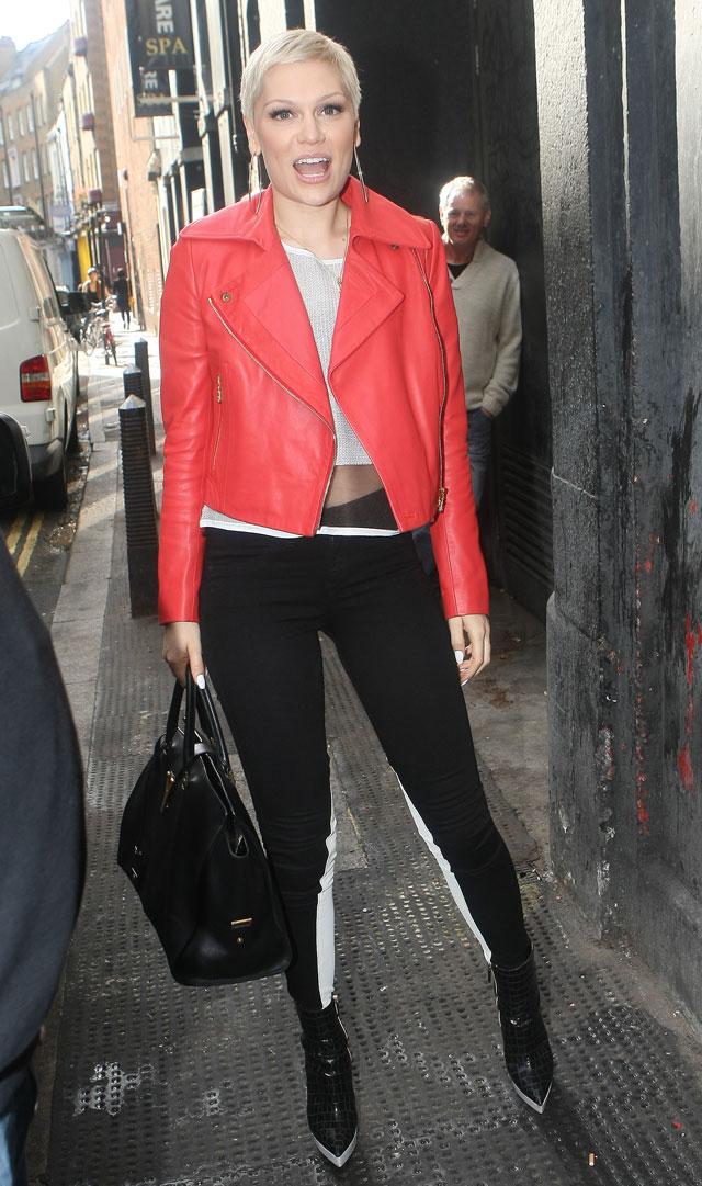 Jessie J's MJ-Inspired Outfit For Facebook Date In London