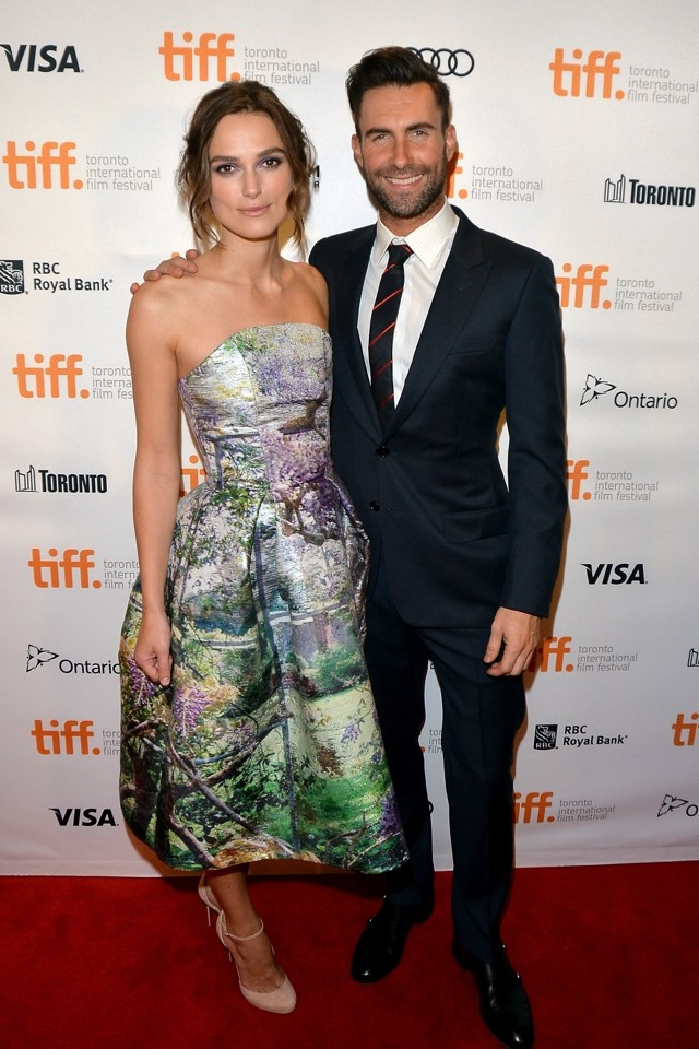 Keira Knightley Does Fairytale Fashion In Forest Scene Frock At Toronto Film Festival