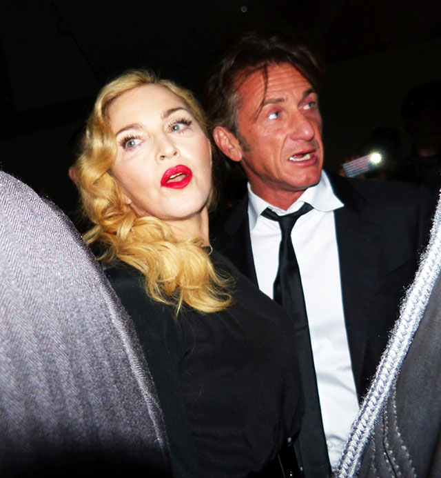 madonna & sean penn reunite in new york