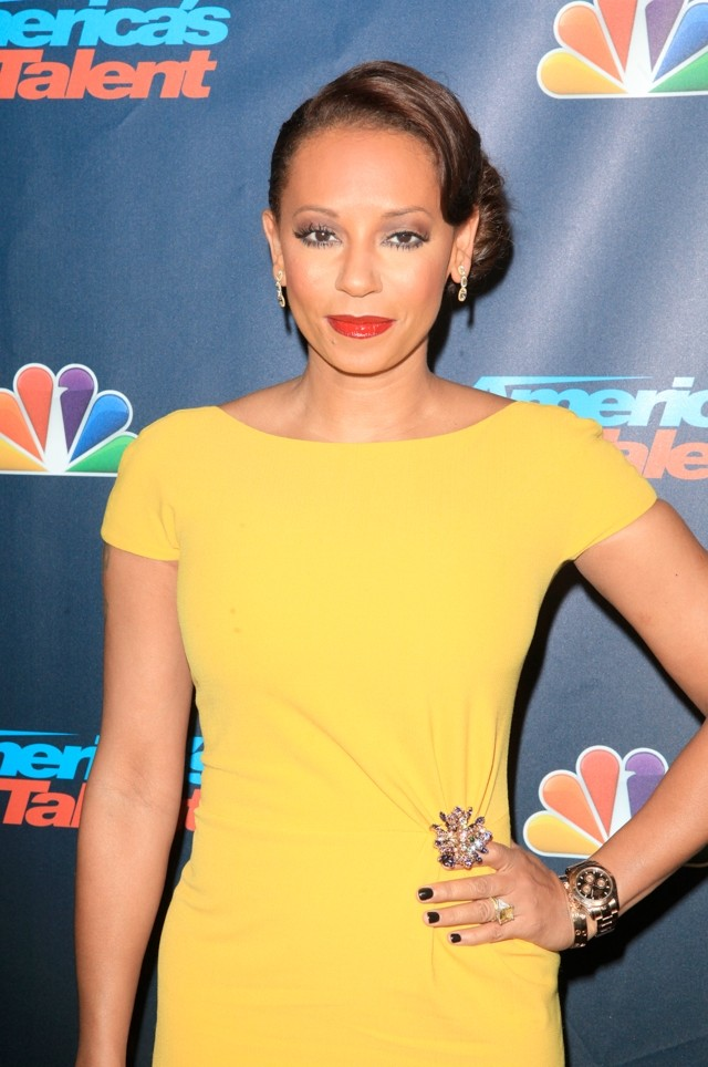 Hello, Yellow! Mel B Wows In Ladylike Bodycon For America's Got Talent