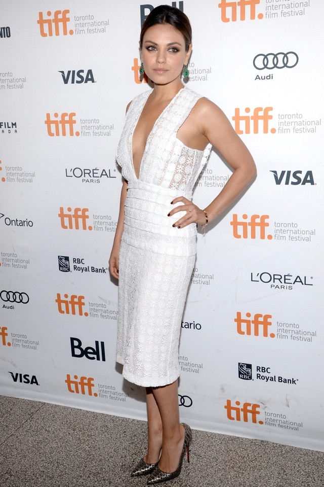 Mila Kunis and Olivia Wilde BOTH WOW At Third Person Premiere At TIFF