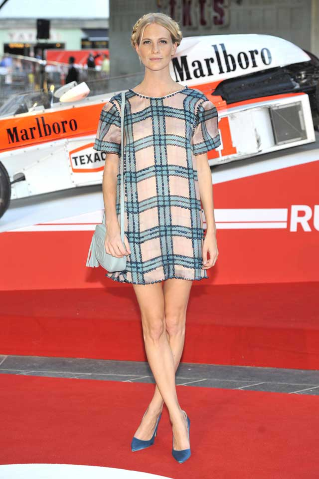 Poppy Delevingne Does Check For Rush Premiere