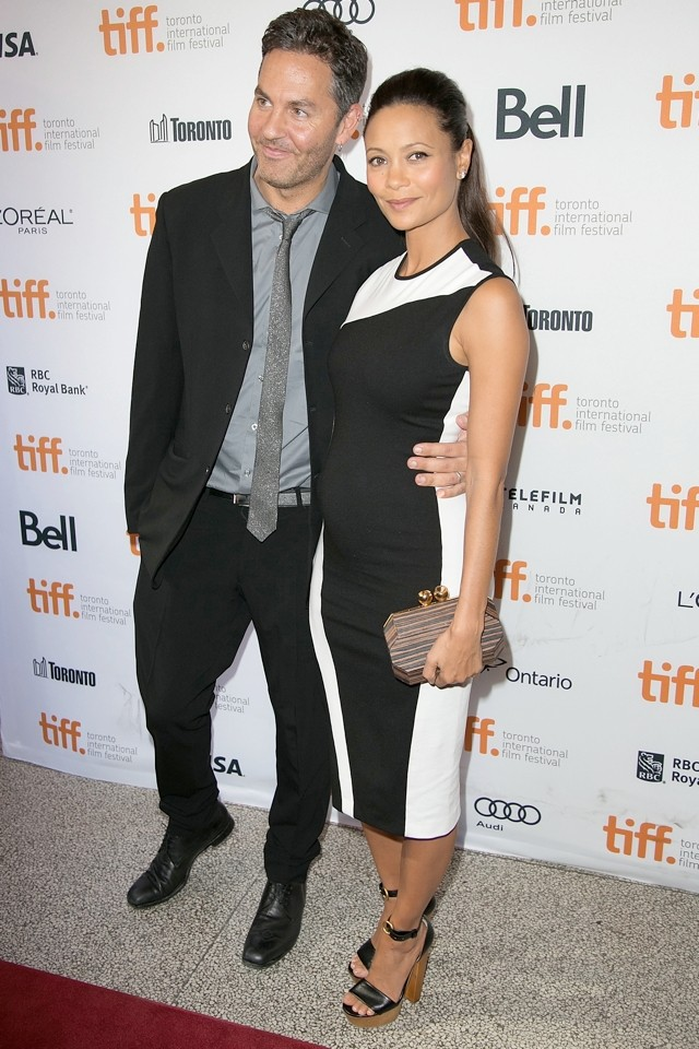 Thandie Newton Wows At Toronto FIlm Festival As She Announces Third Pregnancy
