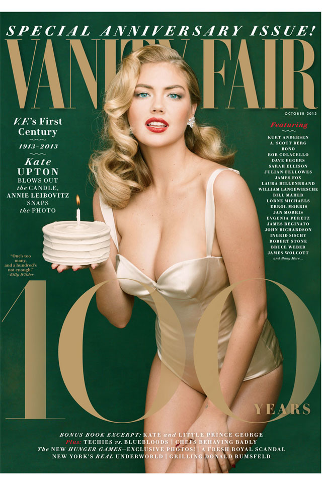 Kate Upton Channels Marilyn Monroe For Vanity Fair's Anniversary Issue
