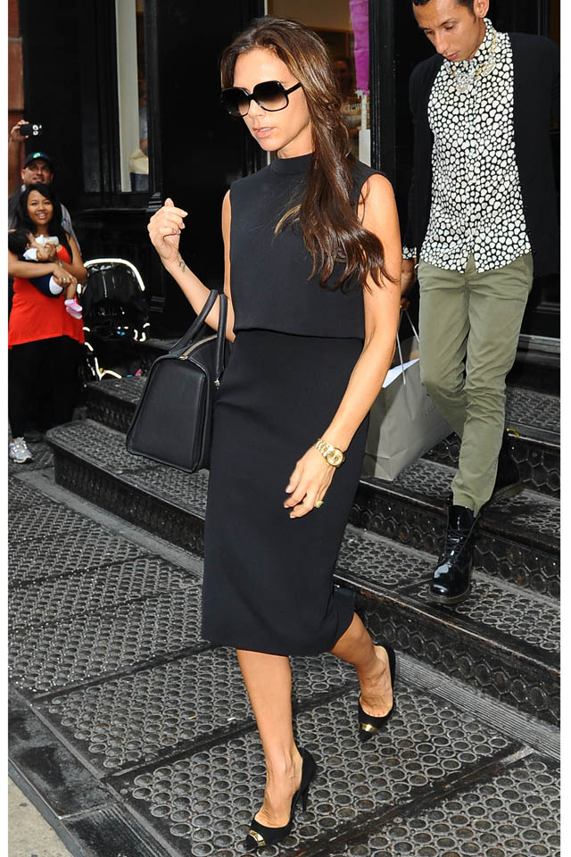 Back To Business Victoria? Mrs Beckham's Seriously Sharp NYC Style