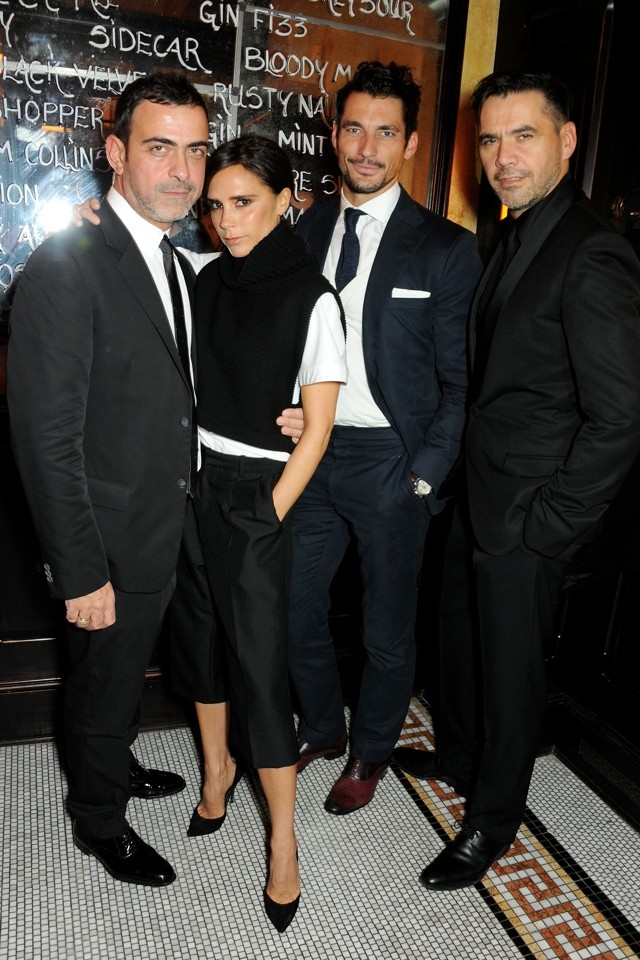 Cute Culotttes! Victoria Beckham Gets Shorty At Vogue Dinner During LFW