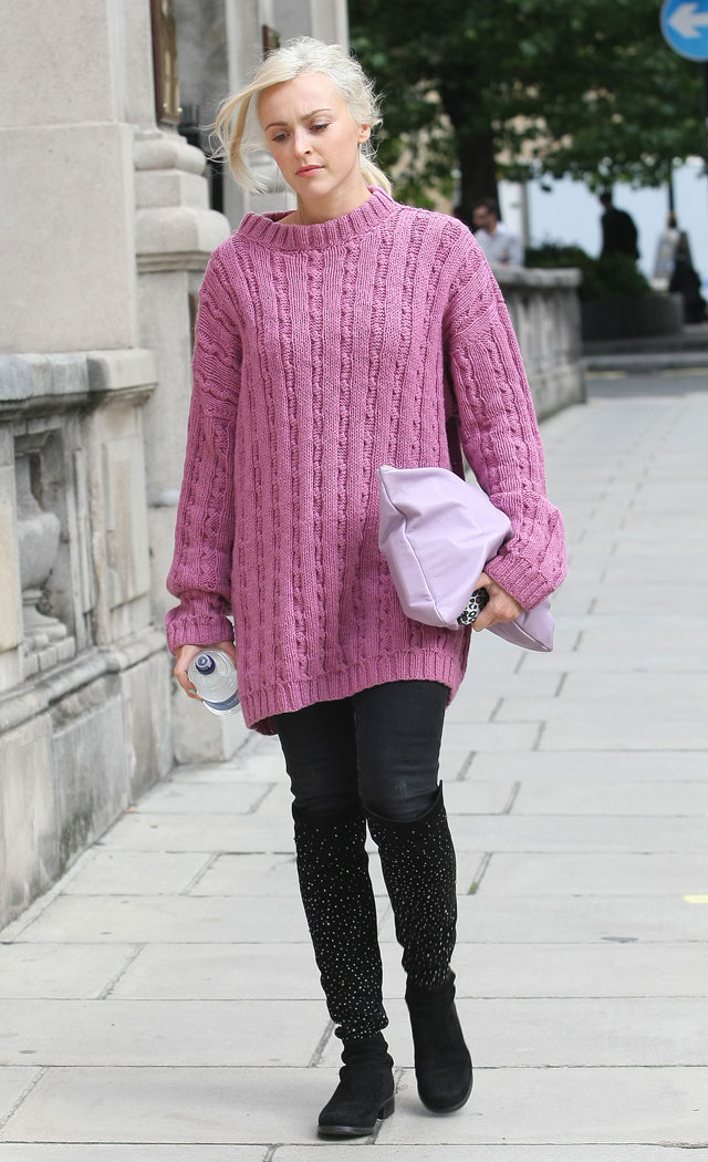 Fearne Cotton's HUGE Jumper Means It's Definitely Autumn