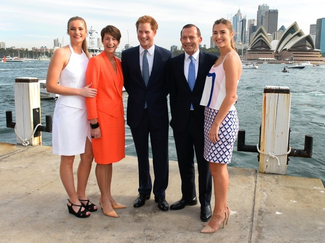 Prince Charming! Harry Greeted In Sydney By Adoring Female Fans