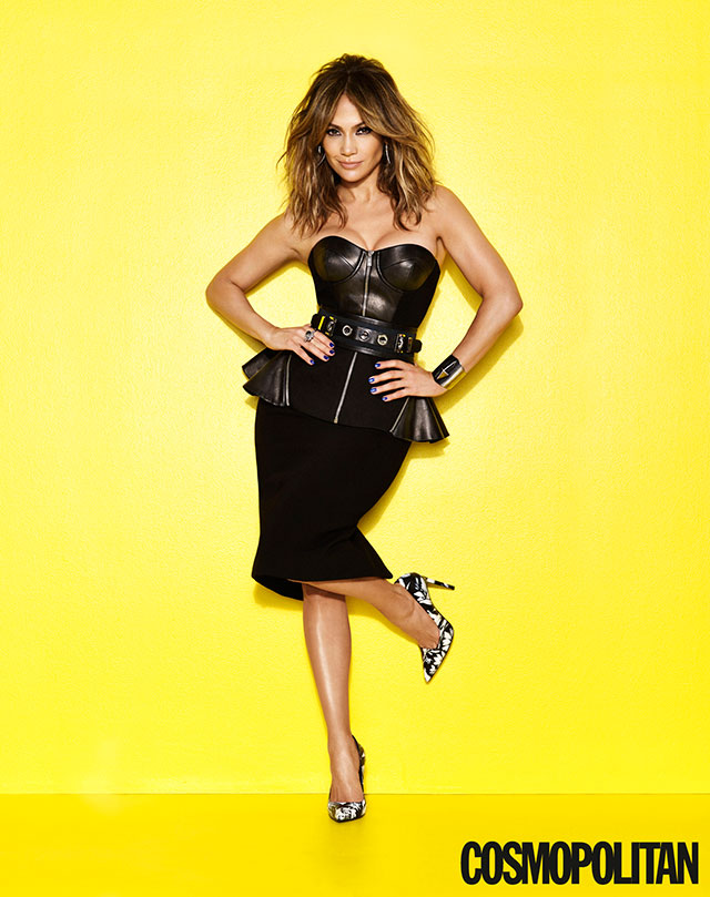 jennifer lopez for cosmopolitan magazine