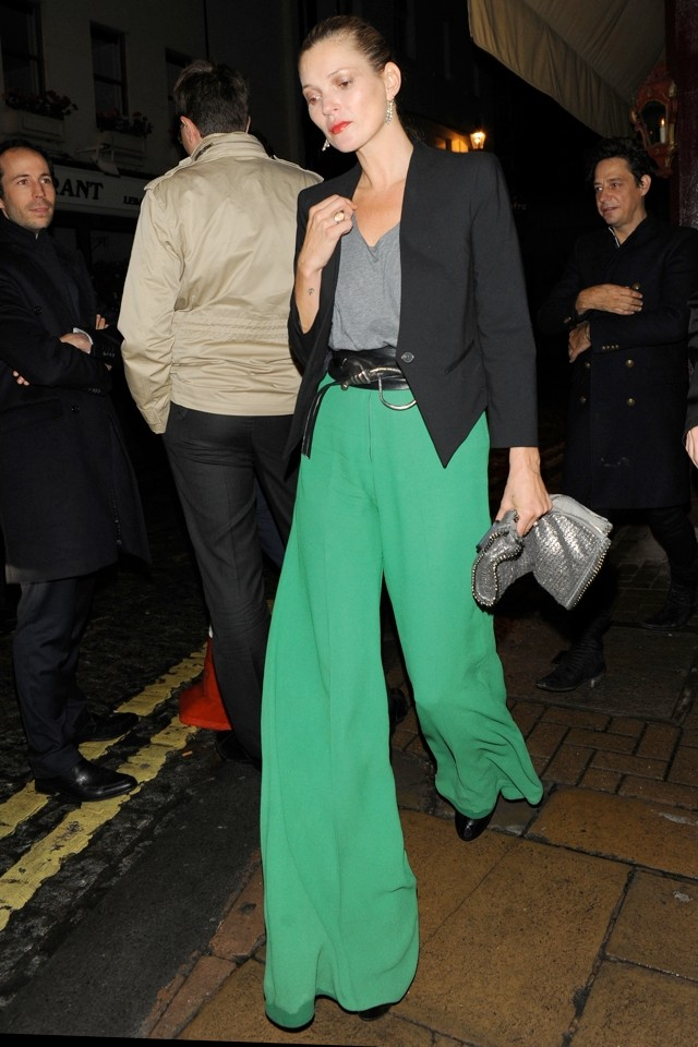 Flare Up! Do Kate Moss' HUGE Trousers Get The Green Light?