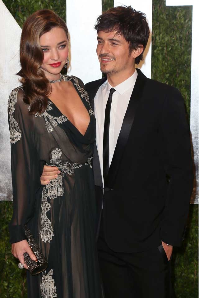 Miranda Kerr, Orlando Bloom