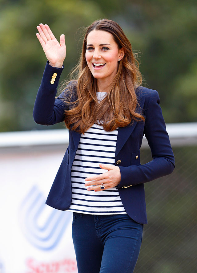 Kate Middleton Celebrates Prince George's Christening With A Tea Party At The Palace, Of Course!