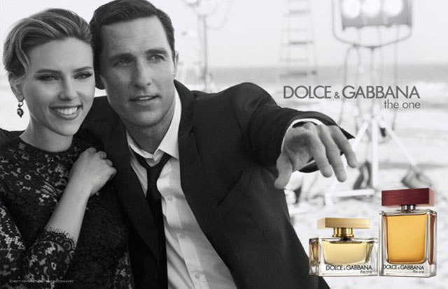 Scarlett Johansson and Matthew McConaughy's latest Dolce & Gabbana ad (aka the hottest pictures you'll see today)