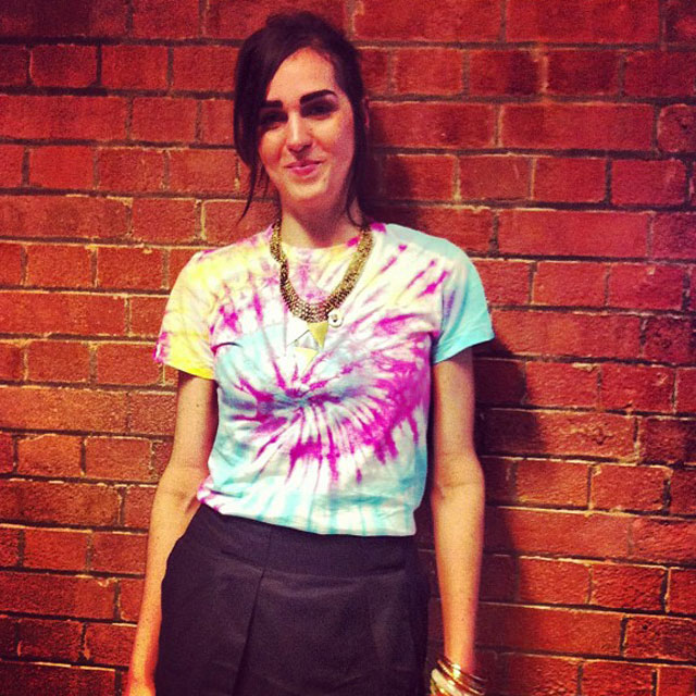 DIY With Daisy: How To Tie Dye A T-Shirt
