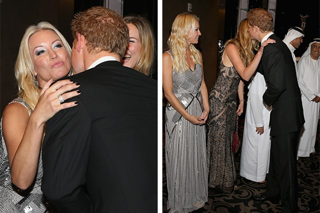 prince harry, denise van outen & joss stone