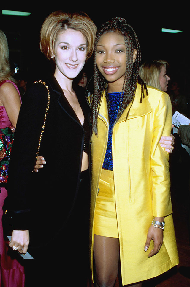 Celine Dion And Brandy Were Pals 20 Years Ago: THIS Picture