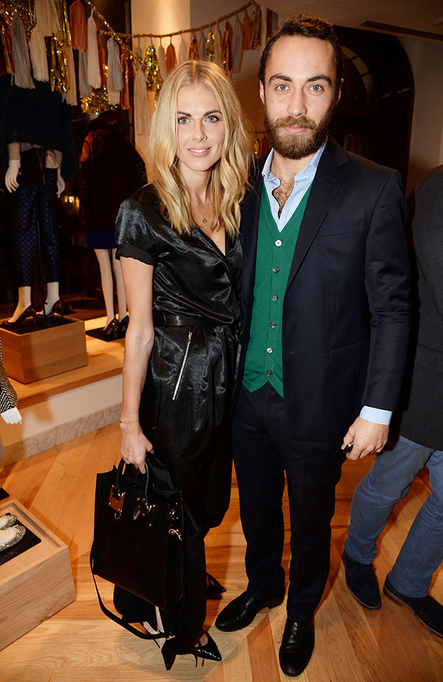 Donna Air And James Middleton: The Cutest Couple At J. Crew Store Launch?