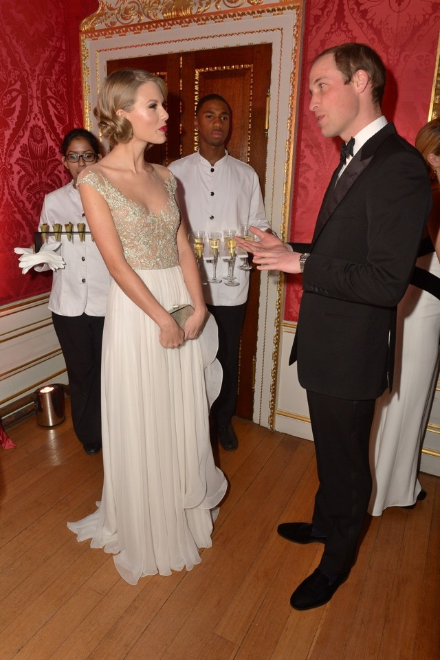 Taylor Swift Is A Princess  For A Night At Kensington Palace's Winter Whites Gala