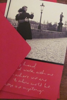 Women want a meaningful card on Valentine's Day