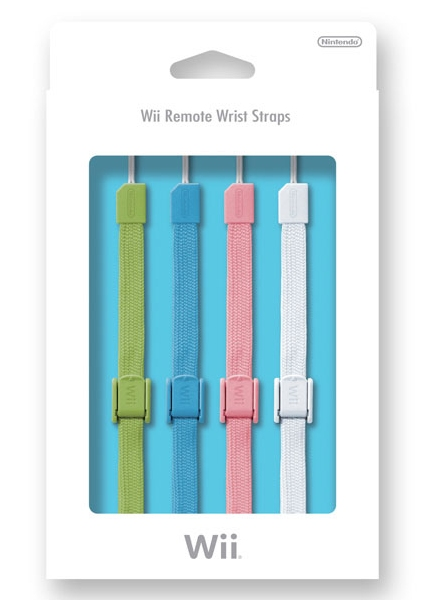 Multi-Colored Wiimote Straps