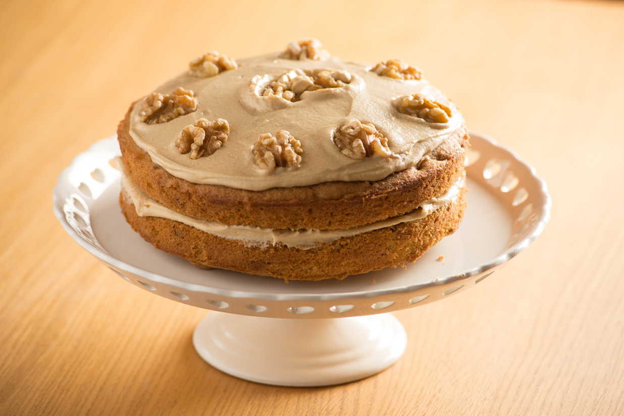 Coffee and walnut cake (RECIPE)