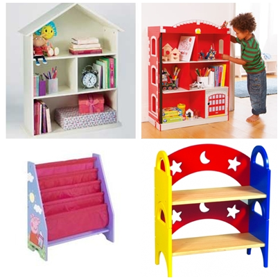 Childrens Bedroom Ideas on Colourful Bookcases To Brighten A Child S Bedroom   Parentdish Uk