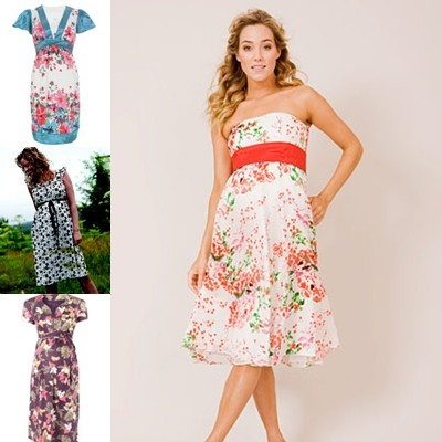 floral maternity dress uk