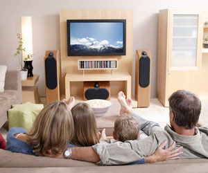 families watch more tv than ever but in separate rooms