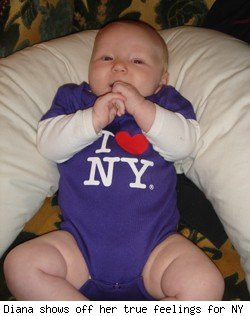 Baby in New York
