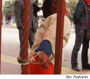 tied up child photo picture image and wallpaper download
