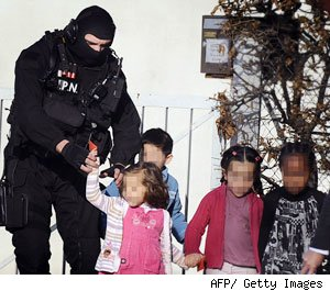 nursery tots held hostage