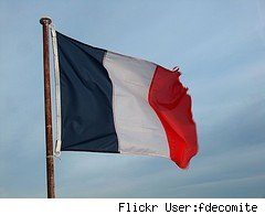 France, French flag