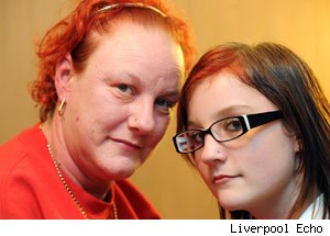 Mum defies nose stud ban for 12-year-old daughter