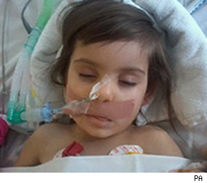 Lana Ameen, died of swine flu aged three but too young for jab