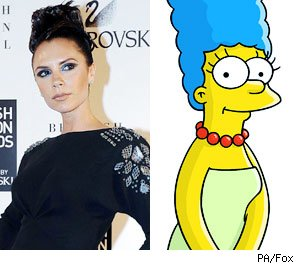 Who would your child swap you for? Victoria Bekham or Marge Simpson