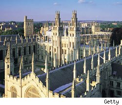 Top universities, Oxford university, All Souls