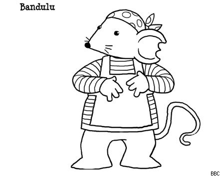 Rastamouse colouring pages picture to pin on pinterest for Rasta coloring pages